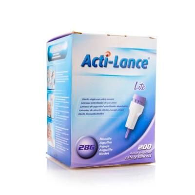 اكتي لانس ليت وخزات آمنة معقمة لمرضى السكري 1.5 مم - 200 حبة