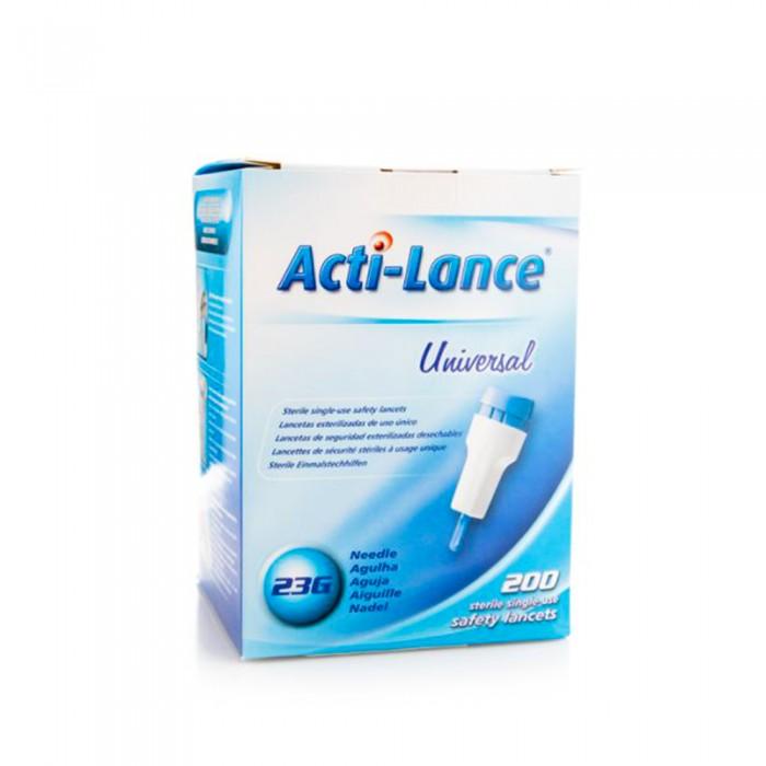 اكتي لانس يونيفرسال وخزات آمنة معقمة لمرضى السكري 1.8 مم - 200 حبة