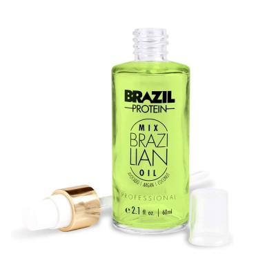 برازيل بروتين ميكس أويل 60 مل