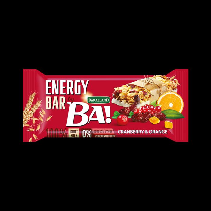 باكالاند إنيرجي بار بالتوت البري والبرتقال 40 جرام
