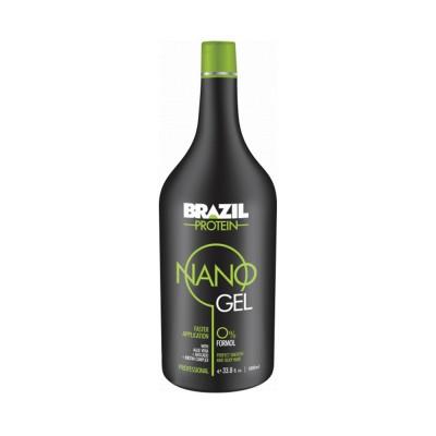 برازيل بروتين بيو لامينيشن نانو جل تنعيم الشعر المجعد 200 مل