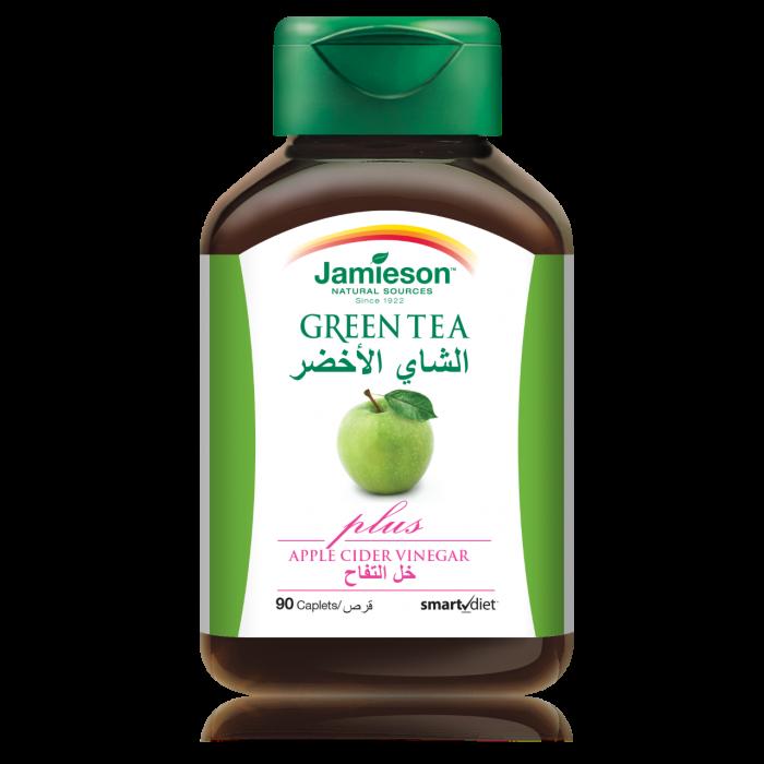 جاميسون الشاي الأخضر مع خل التفاح كبسولات 90 حبة