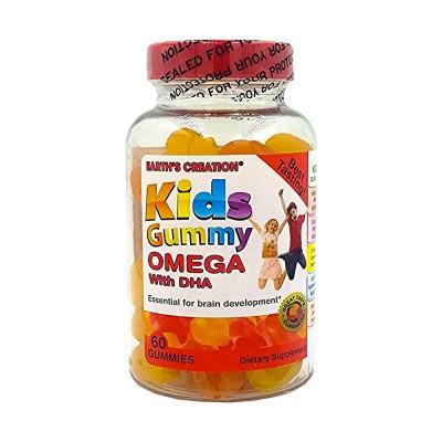 كيدز جامي مكمل غذائي أوميجا ودي اتش ايه 60 حبة