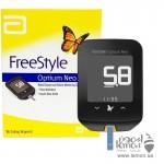 جهاز قياس السكر وكيتون الدم فري ستايل اوبتيوم نيو من شركة أبوت العالمية