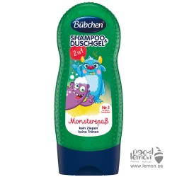 Bubchen Shampoo & Shower Gel Monsters fun 230ml