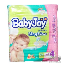 BabyJoy Compressed Large No.4 74 Diapers