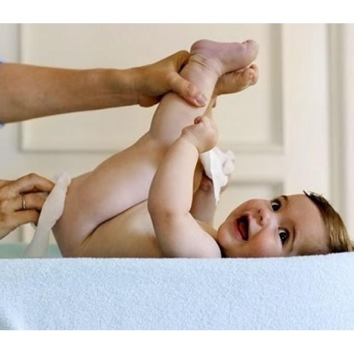 مناديل سيباميد الزيتية الألمانية مع زيت جنين القمح للعناية ببشرة الأطفال والرضع