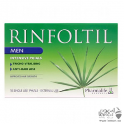Rinfoltil Anti Hairloss intensive vial for Men 10*10ml