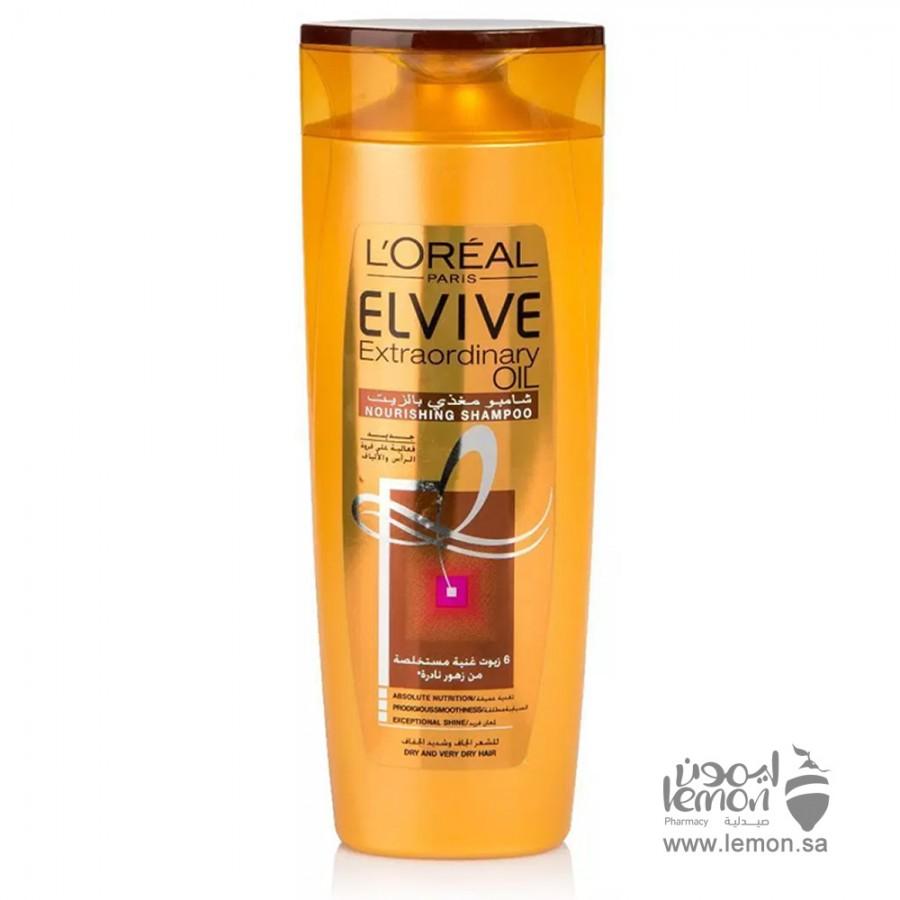 L'Oreal Paris Elvive Extraordinary Oil Shampoo Dry to Very Dry 400 ML