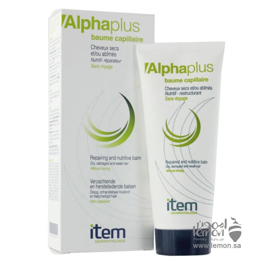 item Alphaplus Baume Capillaire for Dry Hair, Damaged Hair 100ml