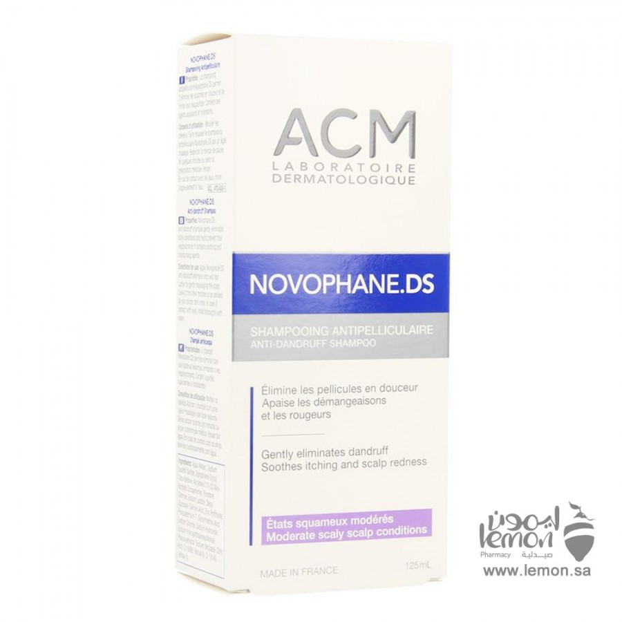 ACM Novophane Ds Anti Dandruff Shampoo 125 ml