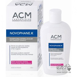 ACM Novophane K Anti Dandruff Shampoo 125ml