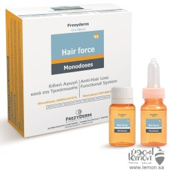 FREZYDERM Hair Force Hair loss treatment for men and women Monodoses Day / Night 14 Ampoules
