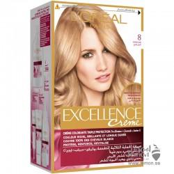L'Oreal Paris Excellence crème  8 Light Blonde Hair Color
