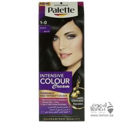 Palette Intensive Color Creme Hair Color 1-0 Black