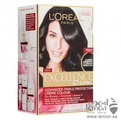 L'Oreal Paris Excellence crème  1  Black Hair Color
