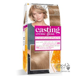 L'Oreal Casting Crème Gloss 810 Ashy Blond Hair Color ( pearl blond)