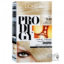 L'Oreal Prodigy 9.10 Very Light Ash Blonde Hair Color