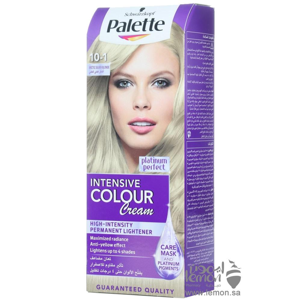 باليت انتنسف كولور كريم صبغة شعر لون 10 1 اشقر فضي قطبي