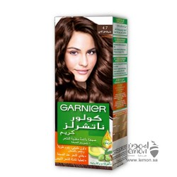 Garnier Color Naturals 4.7 Dark Shiny Brown Hair Color