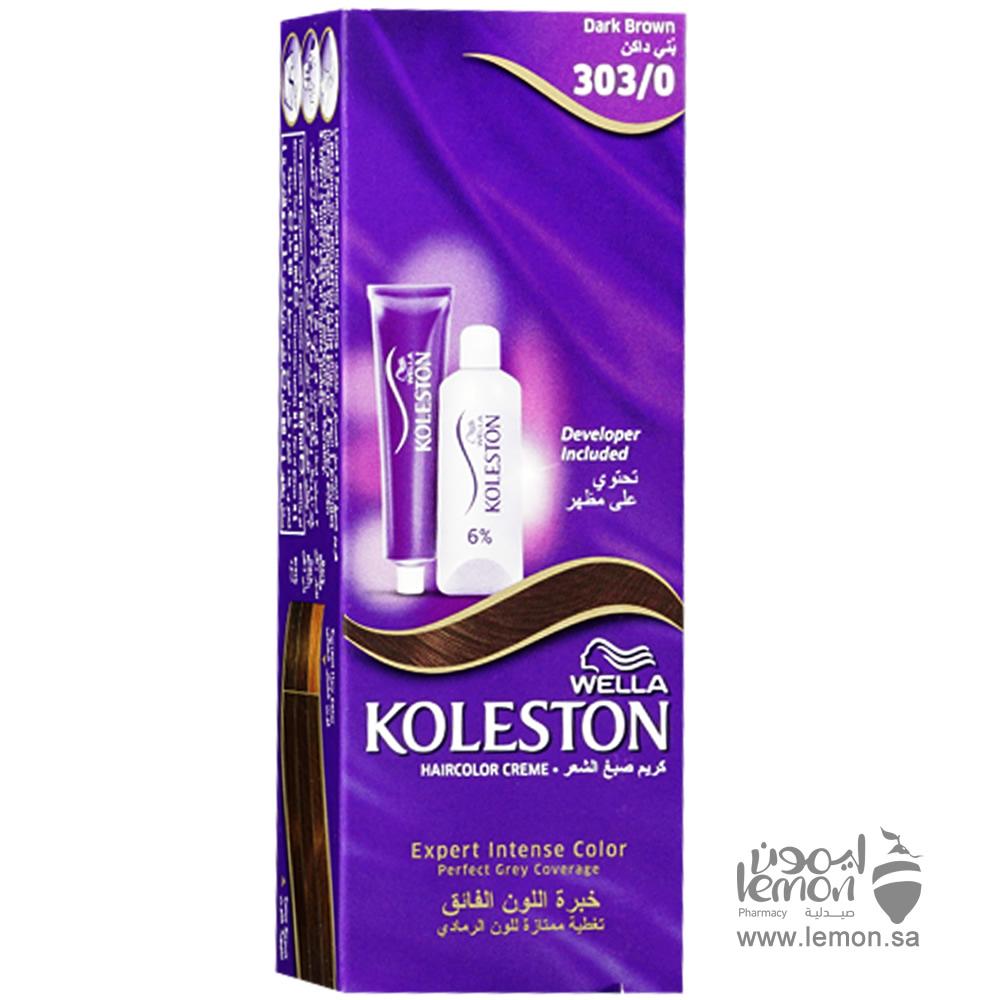 كولستون صبغة الشعر لون 303 0 بني غامق