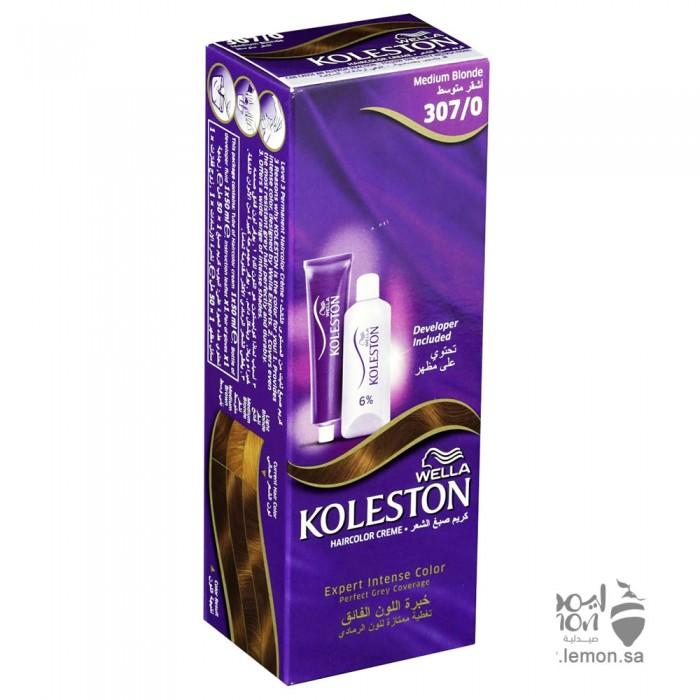 صبغة شعر كوليستون كولور كريم لون 307/0 اشقر متوسط