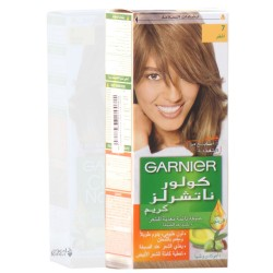 صبغة شعر غارنيه كولور ناتشرلز كريم من صبغات الشعر الدائمة المغذية للشعر اللون اشقر رقم 7