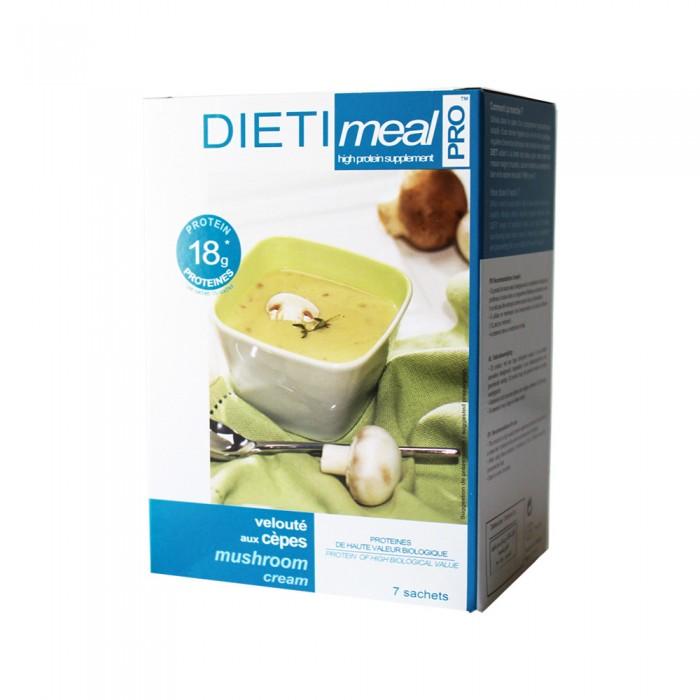 دايتي ميل شوربة الفطر بنكهة الكريمة وجبة خفيفة للمساعدة في انقاص الوزن 7 أكياس
