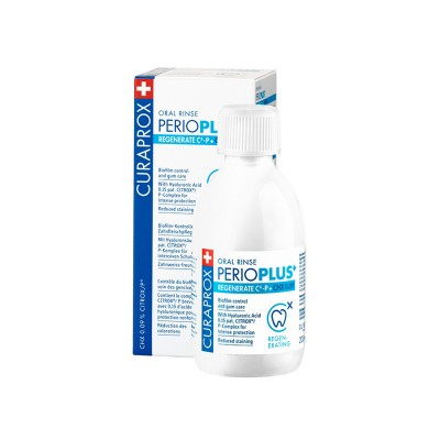 كيورابروكس بريو بلس 0.09% غسول الفم المجدد 200 مل