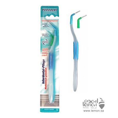 فرشاة اسنان بيورودنت تنظيف سلك التقويم وتنظيف الفراغات بين الأسنان  tooth brush