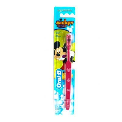 أورال بي فرشاه أسنان ميكي للأطفال ناعمة