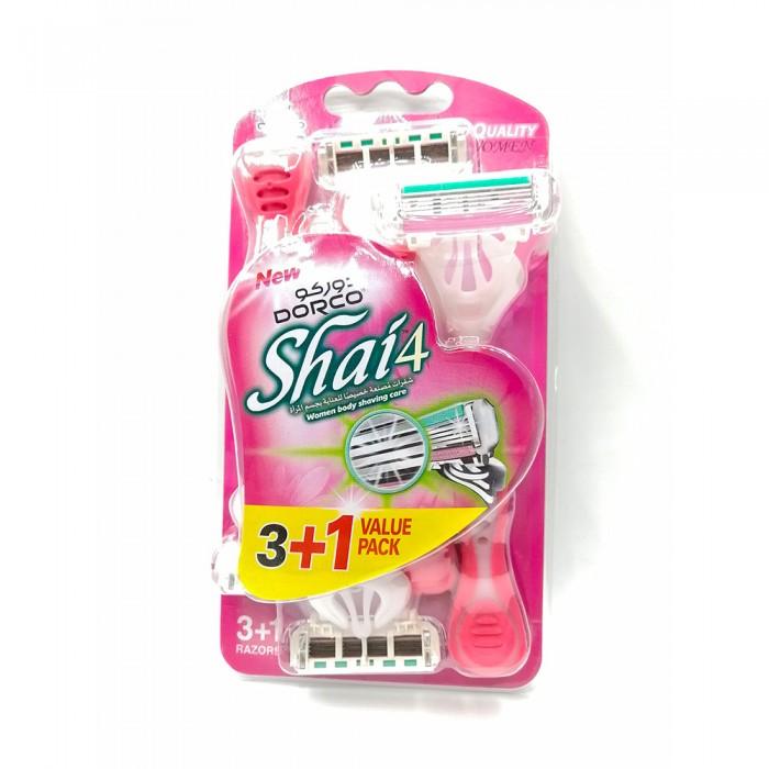 دوركو ماكنية حلاقة Shai-4 للنساء (3+1)