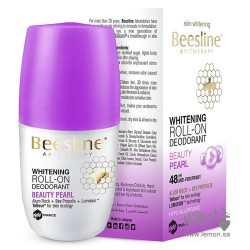 Beesline Whitening Roll On Deodorant 48hr Beauty Pearl 50ml