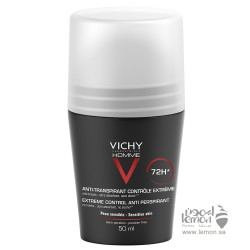 Vichy Homme 72h Anti Perspirant Deodorant Roll on  50ml