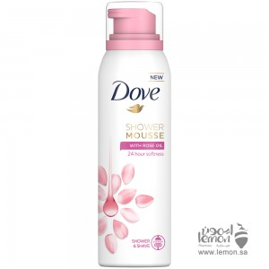 Dove Shower Mousse With Rose Oil 200 ml