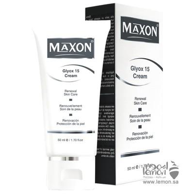كريم احماض الفواكه ماكسون جلايكوس 15% لتجديد البشرة 50مل