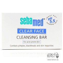 Sebamed  Clear  Face  Cleansing  Bar  For  Acne Prone  Skin 100gm