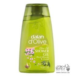 دالان دي أوليف جل الاستحمام برائحة الخوخ لتنظيف وترطيب البشرة 250 مل
