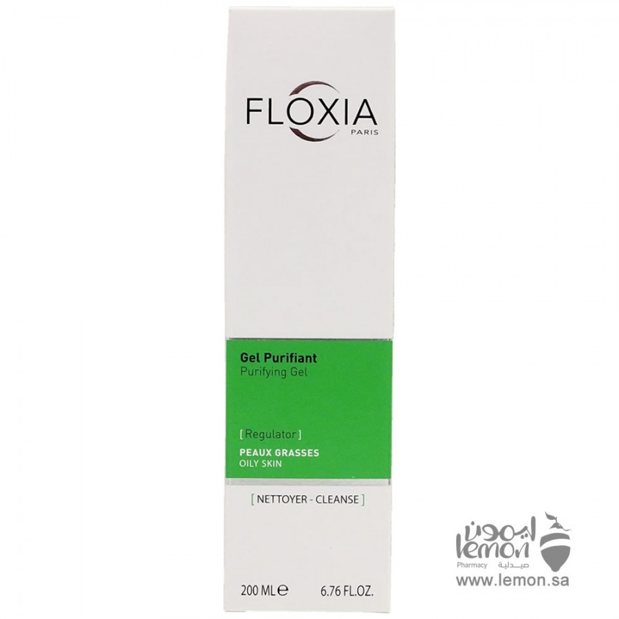 Floxia Purifying Skin Cleansing Gel 200ml