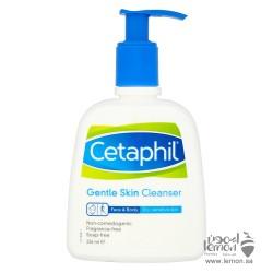 سيتافيل غسول تنظيف البشرة اللطيف للبشرة الجافة والحساسة للوجه والجسم 236مل