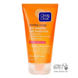Clean & Clear morning energy skin energizing daily facial scrub 150ml
