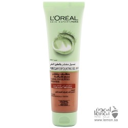 L'Oreal Paris Pure Clay Red Face Cleanser with Red Algae, Exfoliates and Brightens 150ml