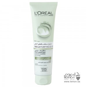 L'Oreal Pure Clay Gel Purifying Wash 150ml
