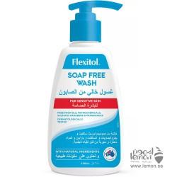 فليكسيتول غسول تنظيف البشرة الجافة والحساسة الخالي من الصابون 250مل