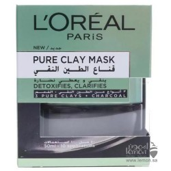 Loreal Pure-Clay Detox & Brighten Face Mask 50ml