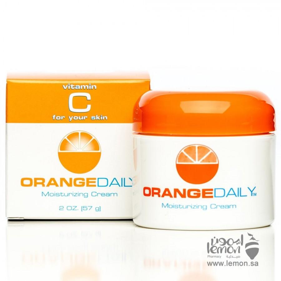 اورنج ديلي كريم ترطيب البشرة اليومي مع فيتامين سي 57مل