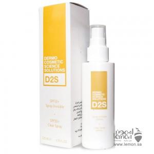 D2S Invisible Sunscreen Spray 50+ SPF 125ml