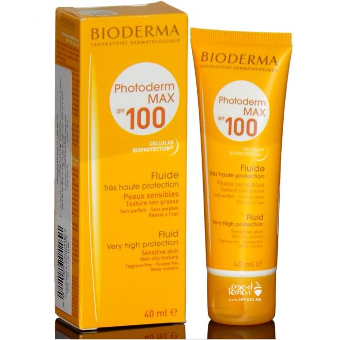 بيوديرما واقي شمس فوتوبلوك حماية من الشمس 100 للبشرة الدهنية