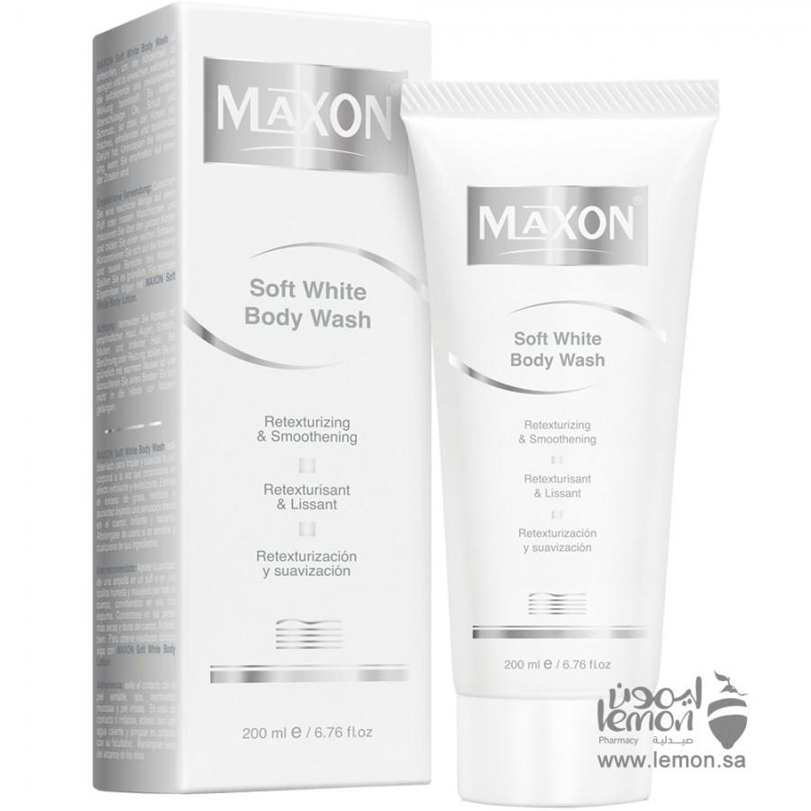 Maxon Soft White Body Wash 200ml