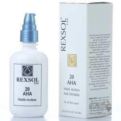 Rexsol 20% AHA Multi-Action anti-wrinkles & skin whitening Cream 120mL